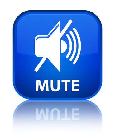 square button: Mute blue square button