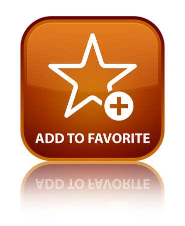 chose: Add to favorite brown square button