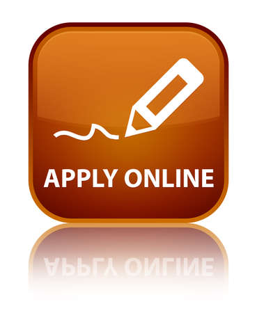 registry: Apply online (edit pen icon) brown square button