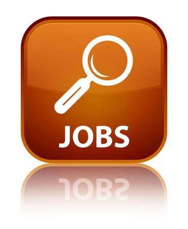 jobs: Jobs brown square button
