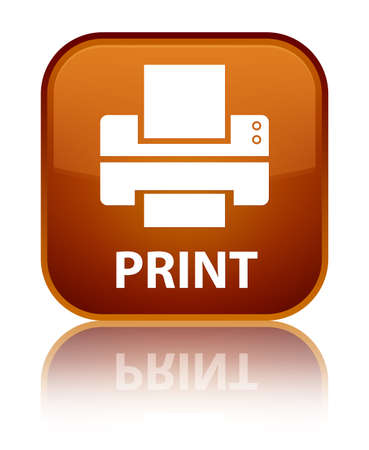 multifunction printer: Print (printer icon) brown square button