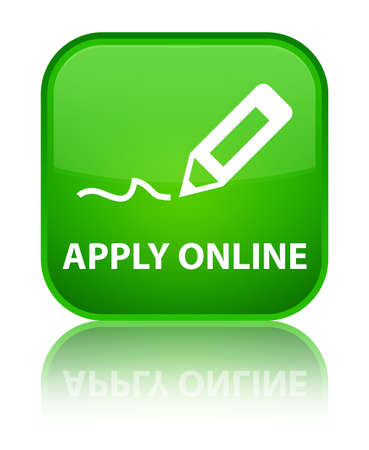 apply: Apply online (edit pen icon) green square button