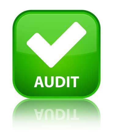 valider: Audit (validate ic�ne) de bouton vert carr�