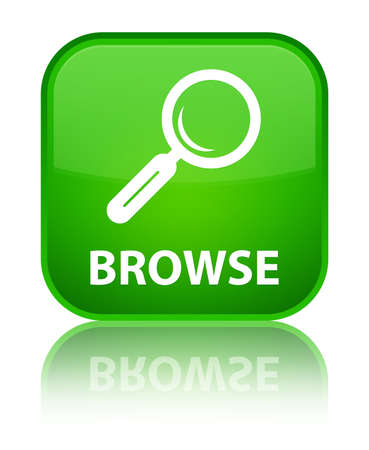 Browse green square button