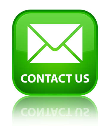 flysheet: Contact us (email icon) green square button