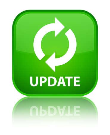 update: Update green square button