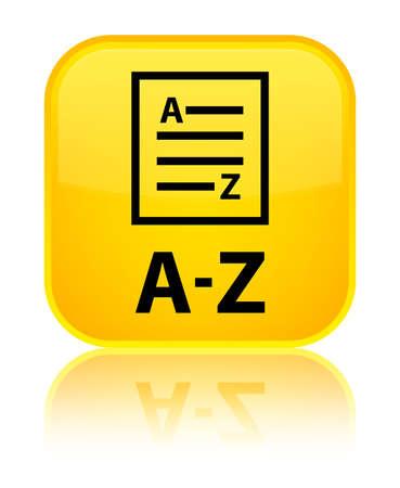 az: A-Z (list page icon) yellow square button