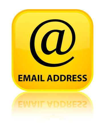 Email address yellow square button photo