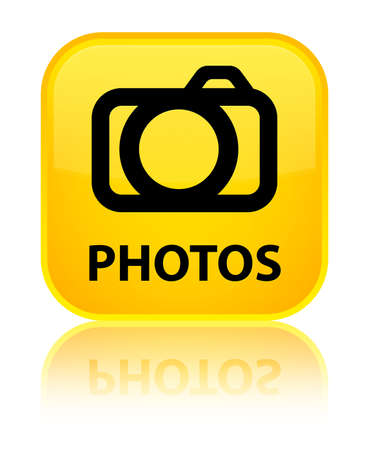Photos (camera icon) yellow square button photo