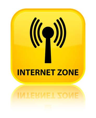 wlan: Internet zone (wlan network) yellow square button