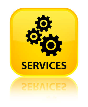 control tools: Services (gears icon) yellow square button
