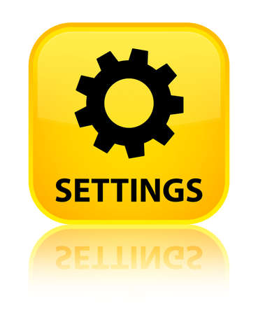 preference: Settings yellow square button