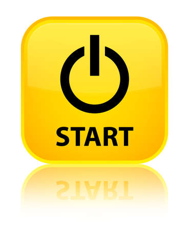 turn yellow: Start (power icon) yellow square button