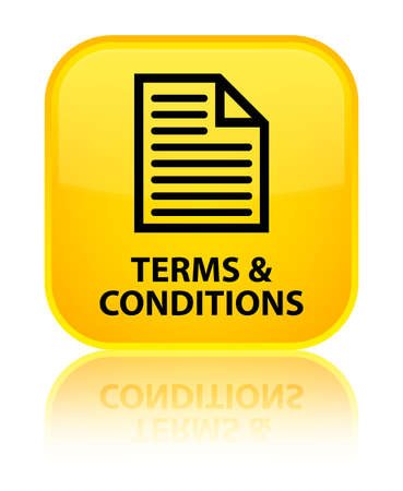 Terms and conditions (page icon) yellow square button