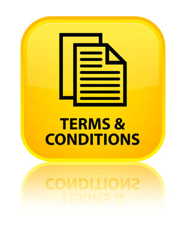 yellow pages: Terms and conditions (pages icon) yellow square button