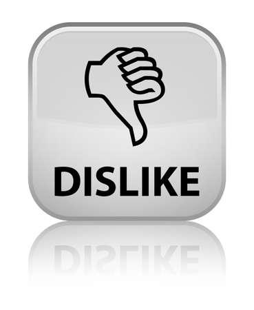 disapprove: Dislike white square button