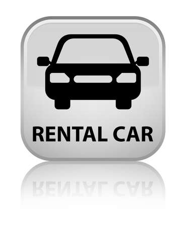 rental: Rental car white square button