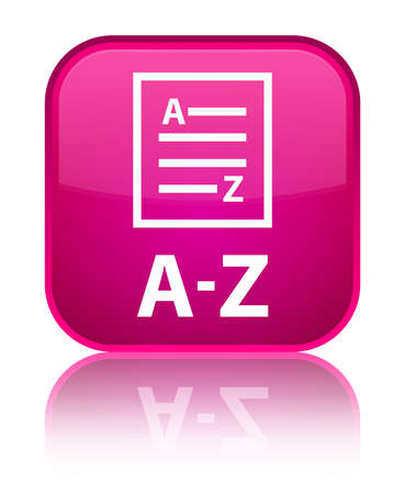 az: A-Z (list page icon) pink square button