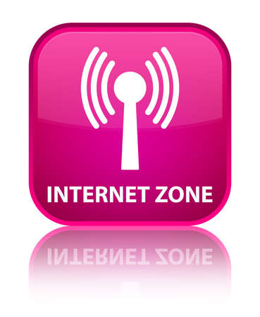 wlan: Internet zone (wlan network) pink square button