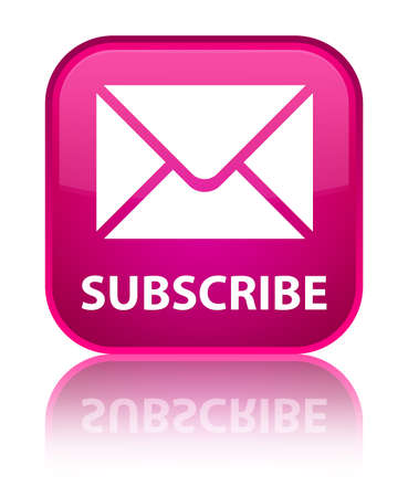 flysheet: Subscribe (email icon) pink square button