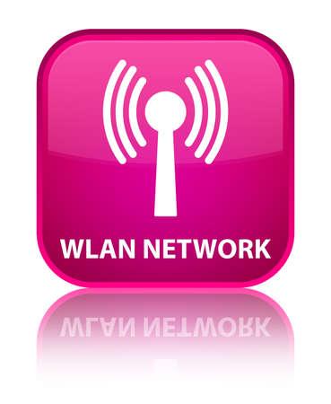 wlan: Wlan network pink square button