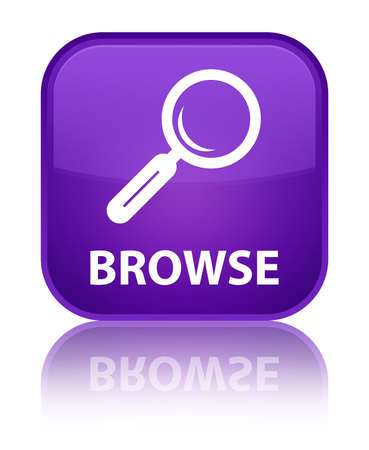 browse: Browse purple square button