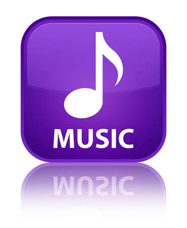 square button: Music purple square button