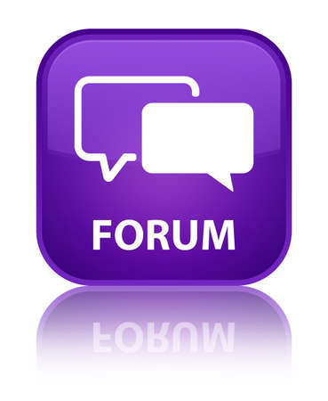 Forum purple square button