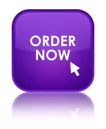 order now: Order now purple square button
