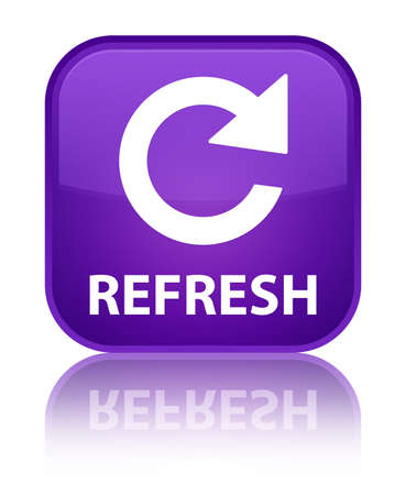 rotate: Refresh (rotate arrow icon) purple square button