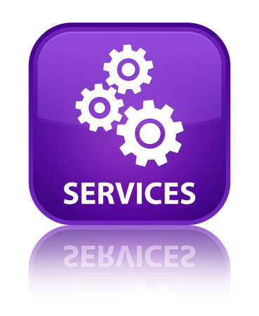 control tools: Services (gears icon) purple square button