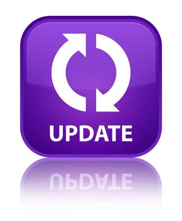 update: Update purple square button