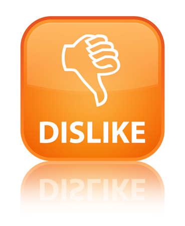 disapprove: Dislike orange square button