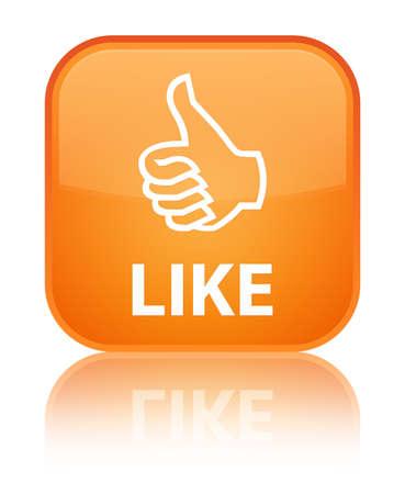 good deal: Like orange square button