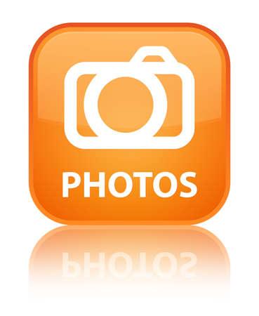 Photos (camera icon) orange square button photo