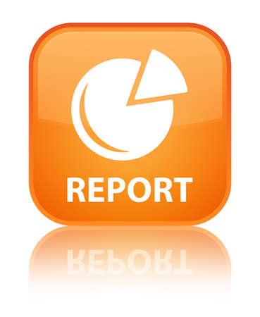 report icon: Report (graph icon) orange square button