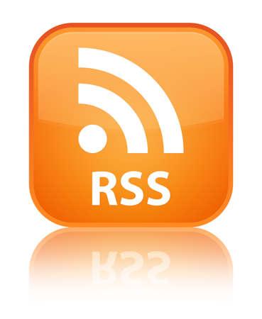 rss: RSS orange square button