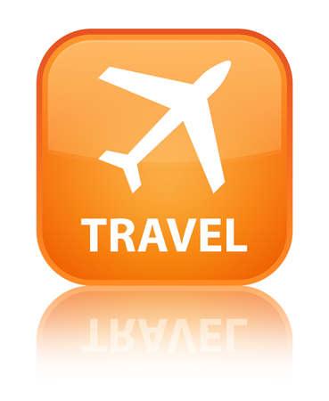 airway: Travel (plane icon) orange square button