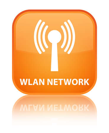 wlan: Wlan network orange square button