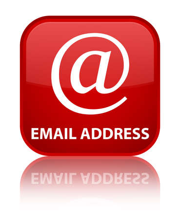 email address: Email address red square button