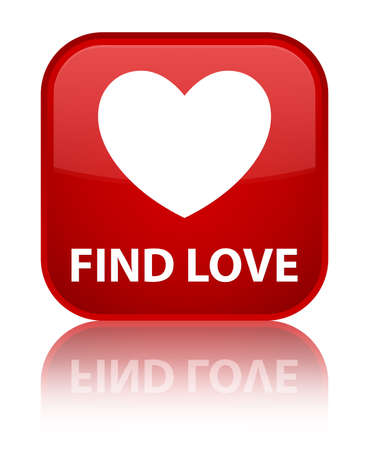 to find: Find love red square button