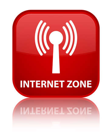 wlan: Internet zone (wlan network) red square button
