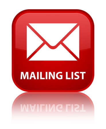 flysheet: Mailing list red square button