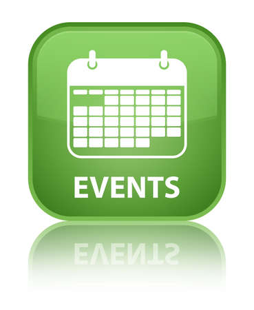 current events: Events (calendar icon) soft green square button