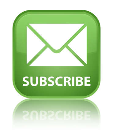 subscribe: Subscribe (email icon) soft green square button