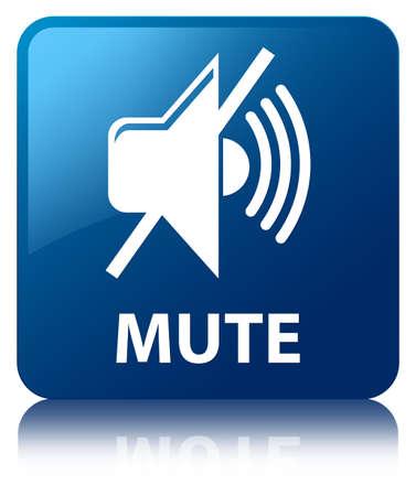 beep: Mute blue square button