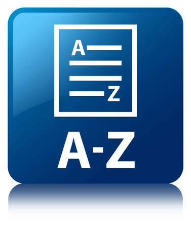az: A-Z (list page icon) blue square button
