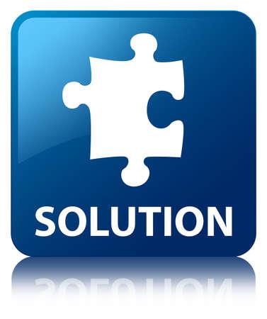 plugin: Solution (puzzle icon) blue square button