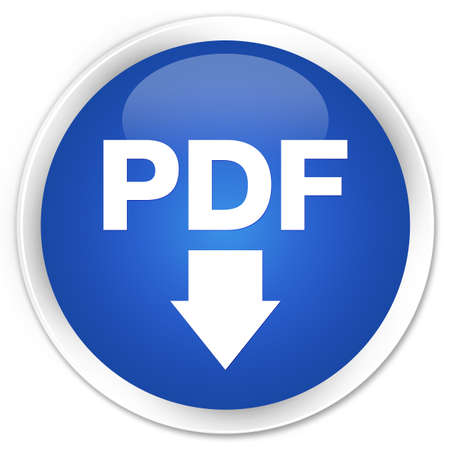 downloads: PDF download icon blue glossy round button