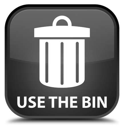 waste 3d: Use the bin (trash icon) black square button